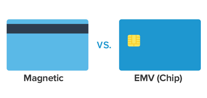 chip card vs magnetic
